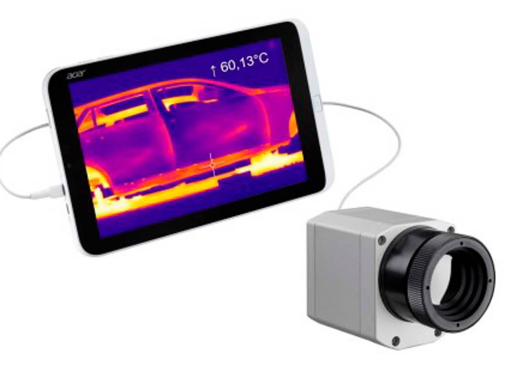 Wärmebildkamera mit Screen