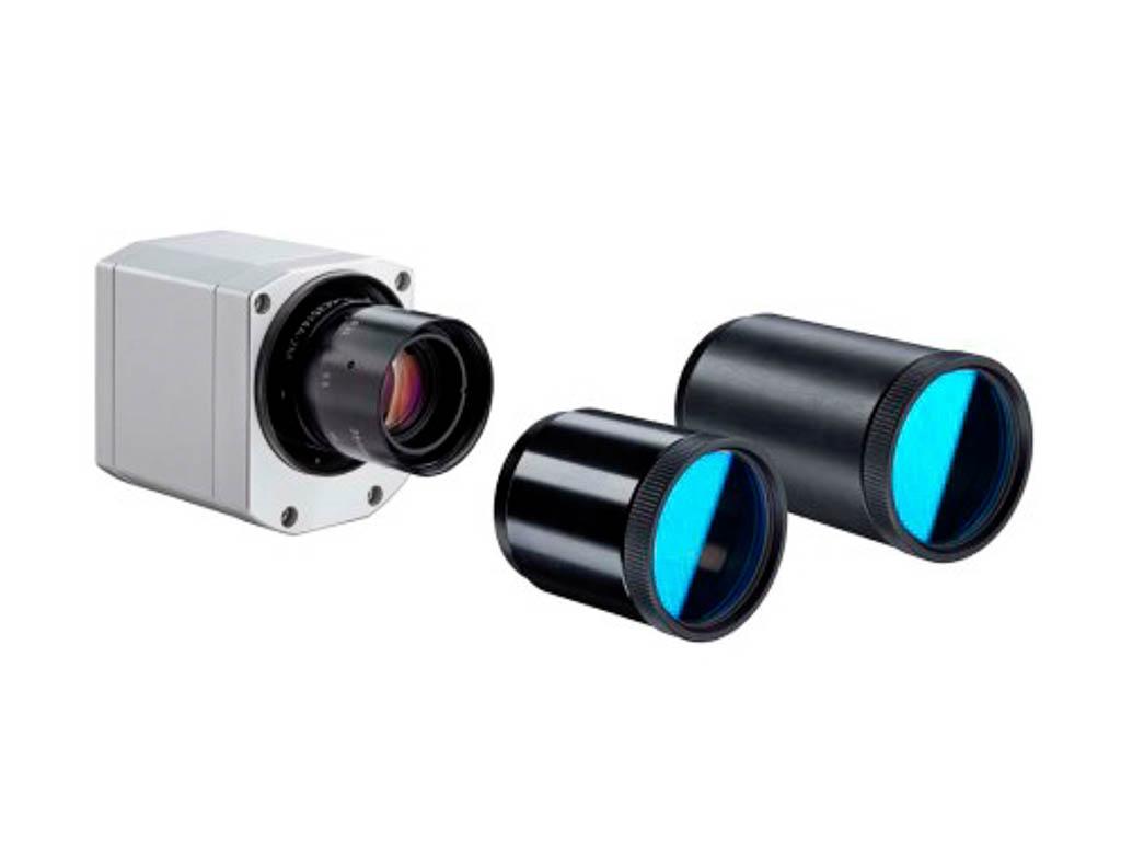 Wärmebildkamera mit verschiedenen Objektiven